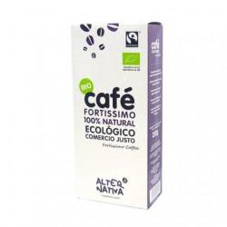 Cafe molido Fortissimo BIO 250 gr  Comercio Justo Alternativa3