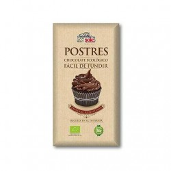 Chocolate BIO para Postres 200gr Sole
