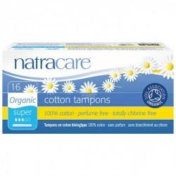 Tampón súper con aplicador bio Natracare 16 uds