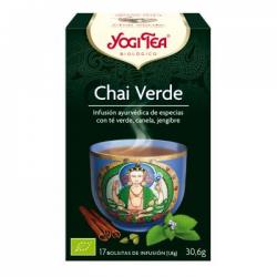 Yogi Tea BIO Chai verde, 17 bolsitas