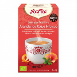 Yogi Tea BIO Energía Positiva, 17 bolsitas