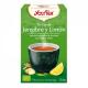 Yogi Tea BIO Té verde Sencha, jengibre y limón, 17 bolsitas