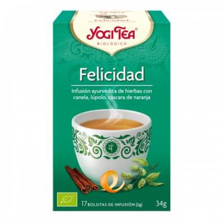 Yogi Tea BIO Felicidad, 17 bolsitas