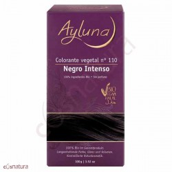 COLORANTE VEGETAL 100GR AYLUNA NEGRO INTENSO