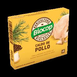 Caldo de pollo cubitos BIO 66 gr